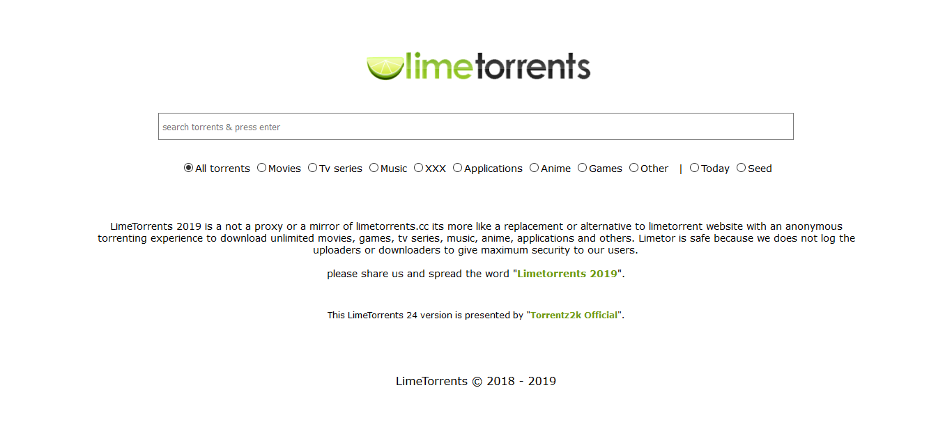lime torrents - postinweb