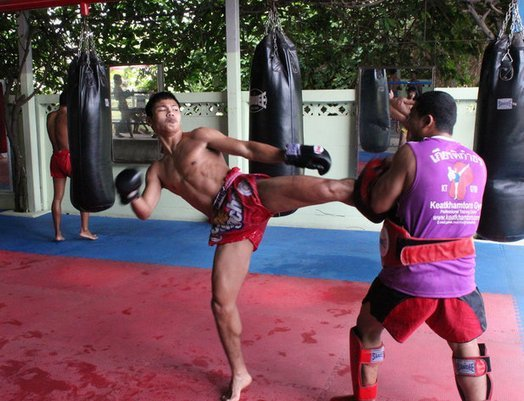Muay Thai Camp and Boxing in Thailand