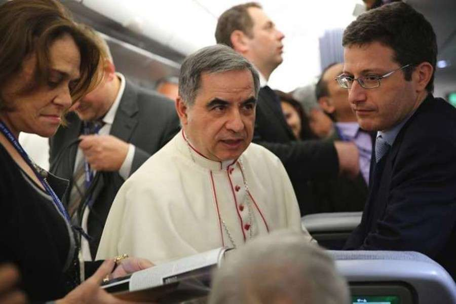 Cardinal Becciu Steps Down From the Vatican Official Chair