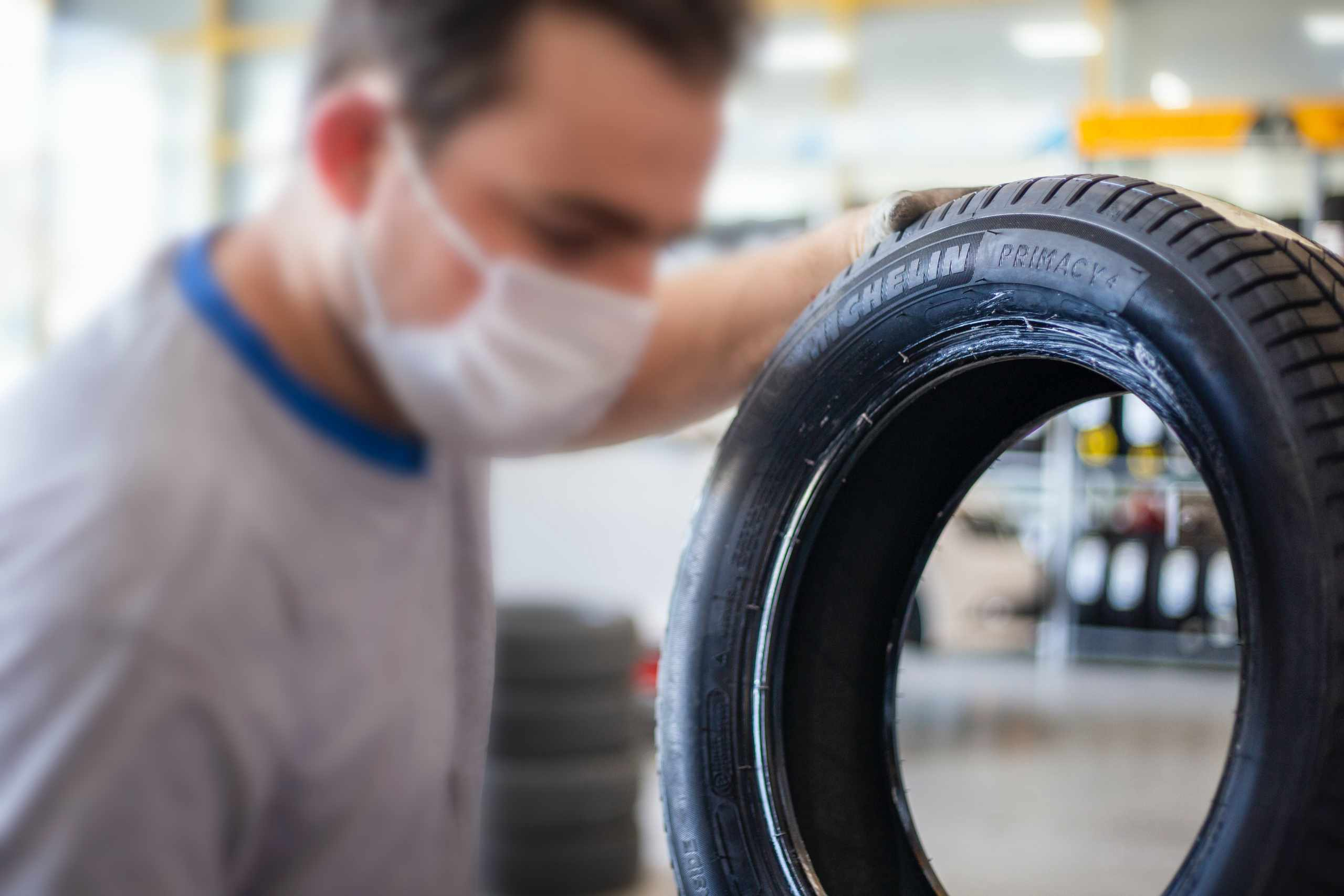 Make sure the tyres are ready before hitting the road