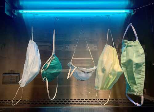 reuse disposable masks