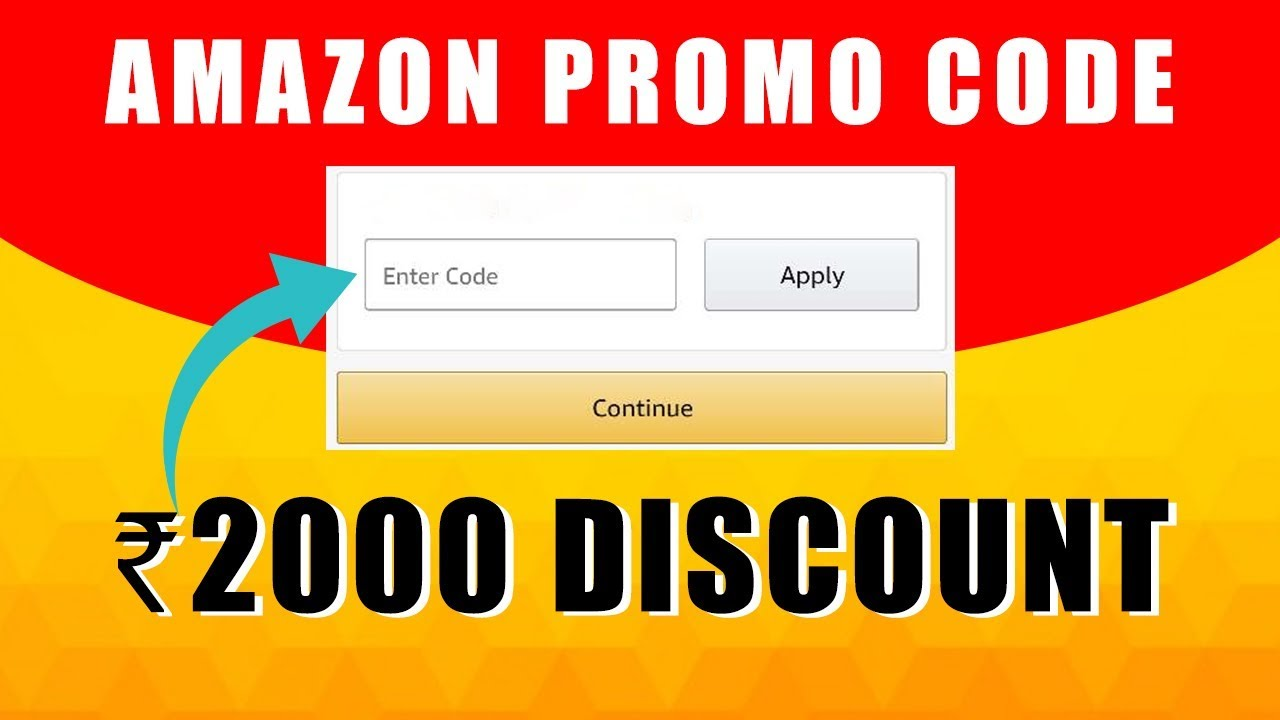 Discount Codes on Amazon