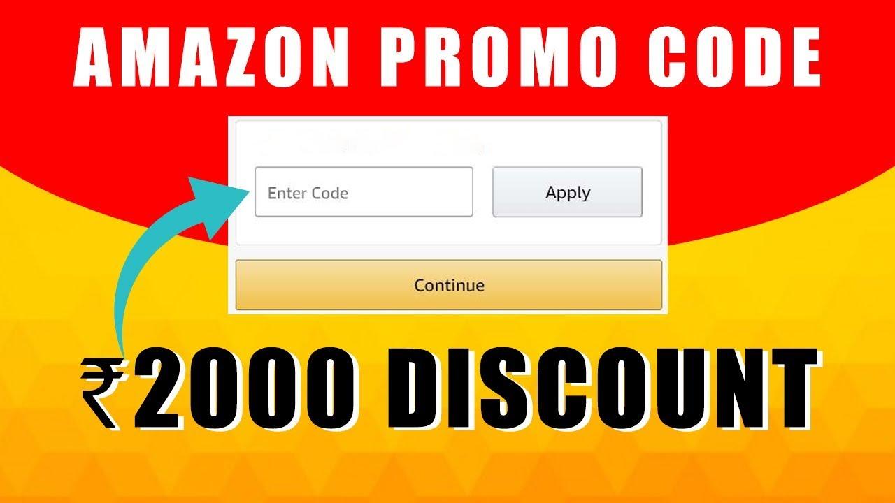 Discount Codes on Amazon