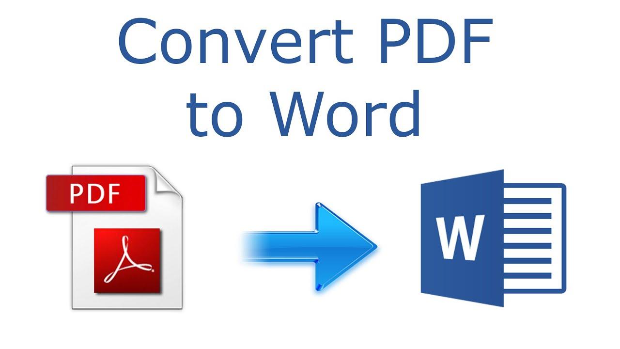 Pdf a Word Editable