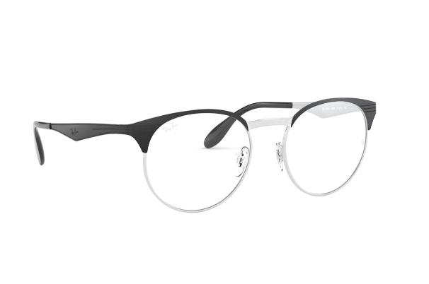 Black Round Rimmed Eyeglasses from Rayban