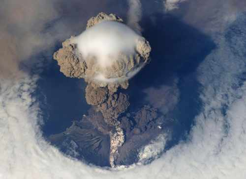 Volcano at St. Vincent Has Been Erupting for Two Weeks