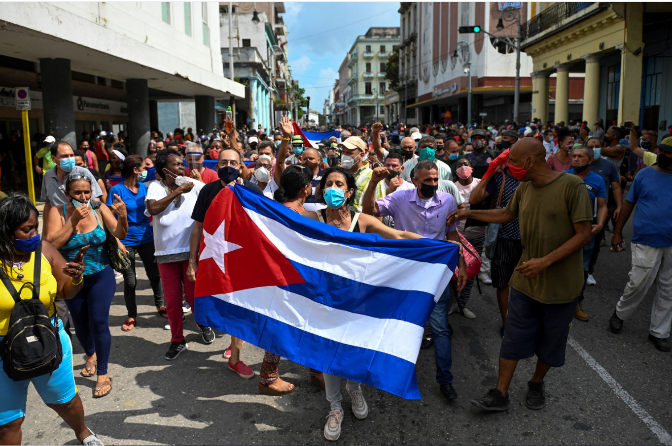 Biden Commends Cuban Protests Against Authoritarian Government